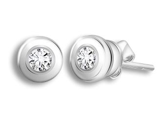 Taka Jewellery Galaxe Diamond Earrings 9k White Gold