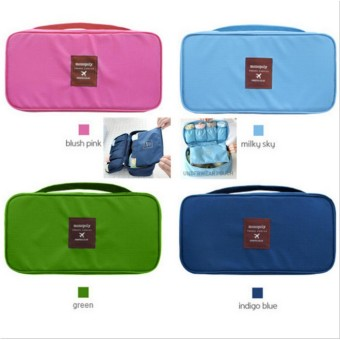 Travel Portable Oxford Cloth Wash Bag Underwear Storage Bag Bra Finishing Package Home Clothing Storage Boxes Organizer Sets