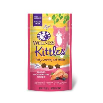 Wellness- Kittles Cat Snacks Salmon & Cranberries