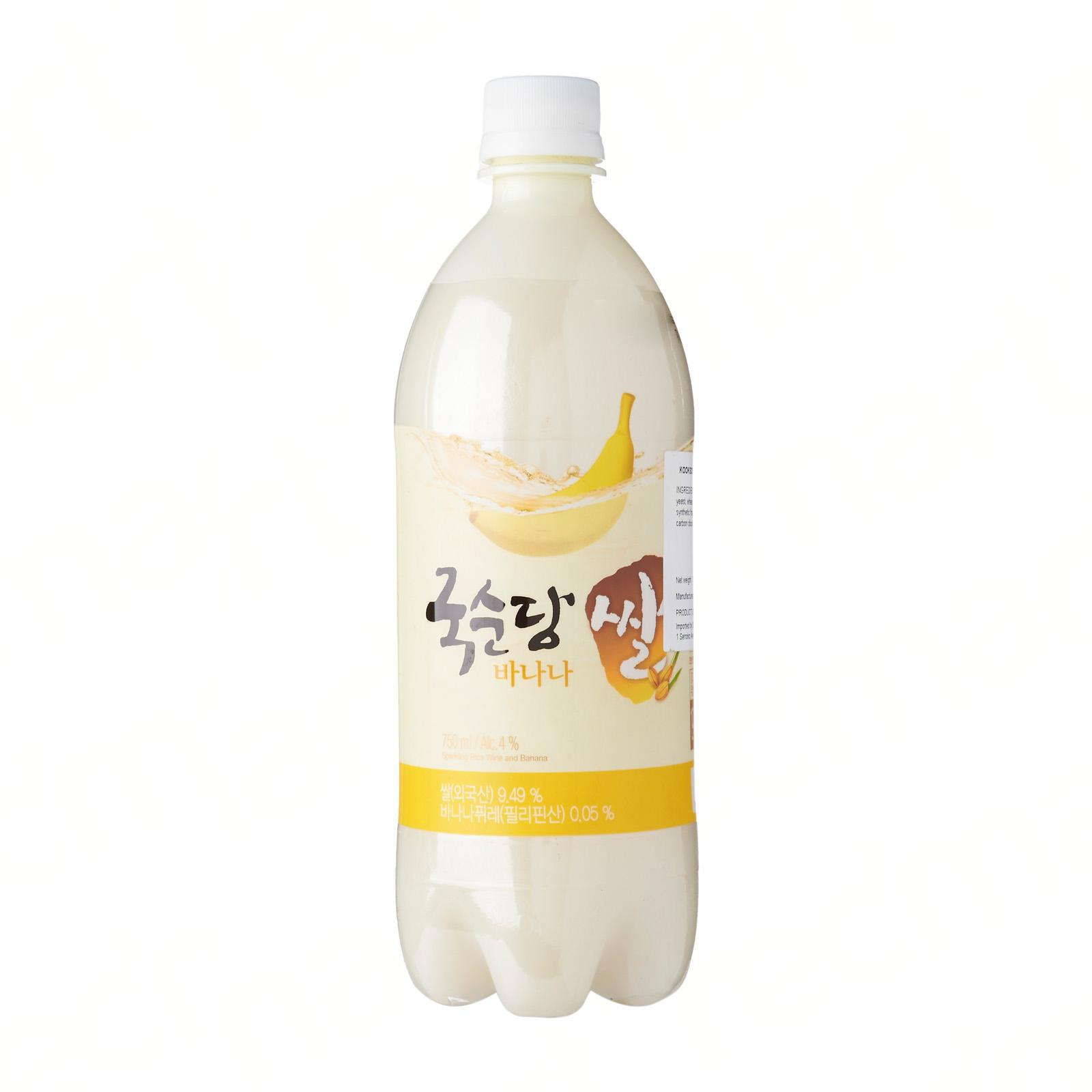 Kooksoondang Korean Rice Wine Makkoli Banana Lazada Singapore