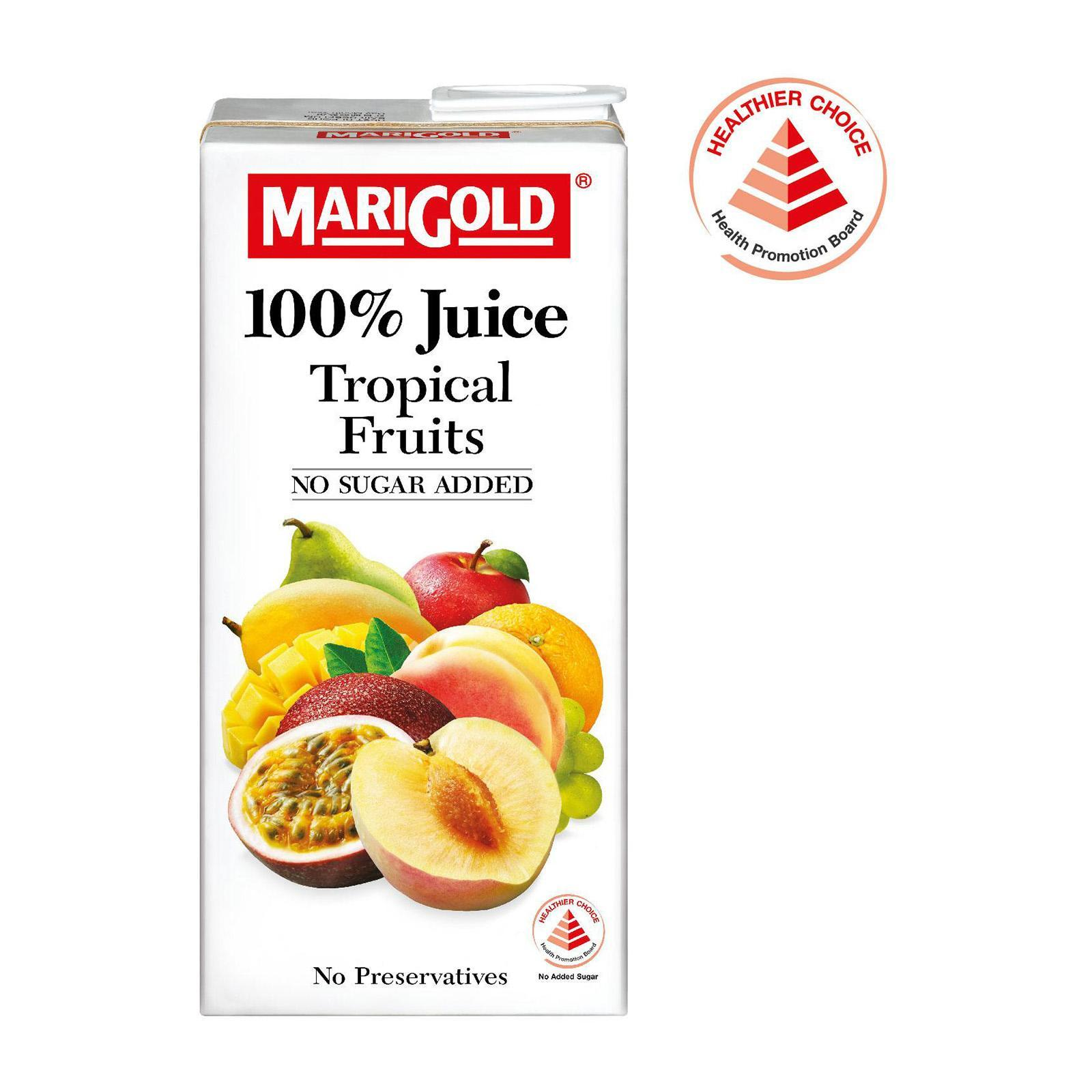 Marigold 100 Percent Tropical Fruits Juice Lazada Singapore