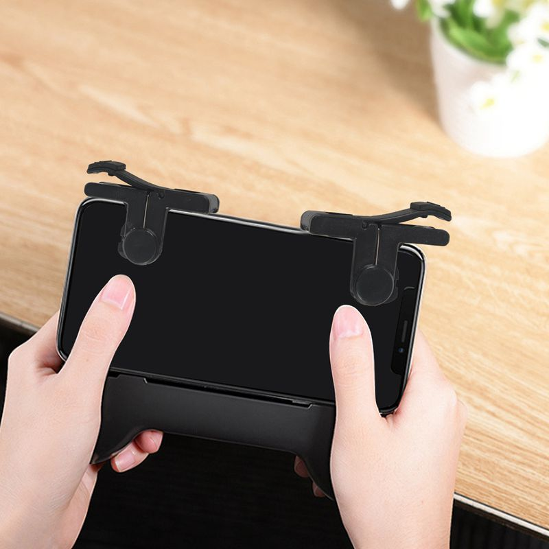 1 Pair Phone Mobile Gaming Handle for L1R1 Shooter Controller PUBG Game