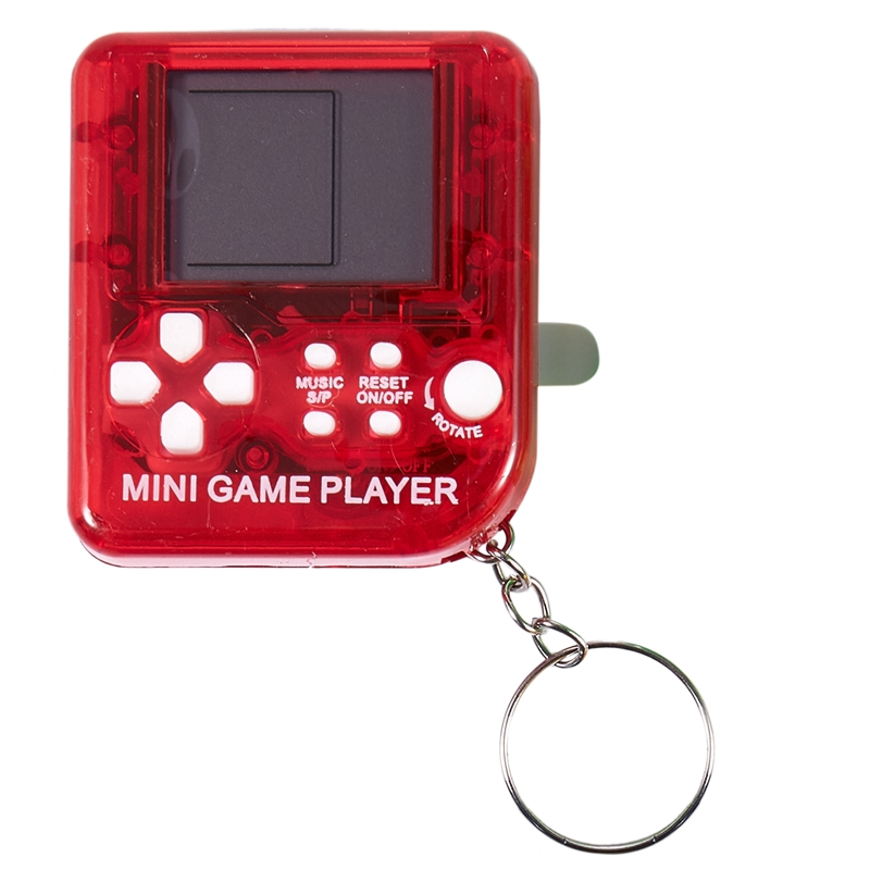 4PCS Mini Handheld Game Console Classical Game for Tetris Electronic Cyber Machine Puzzle Toy for Kids Student Gift