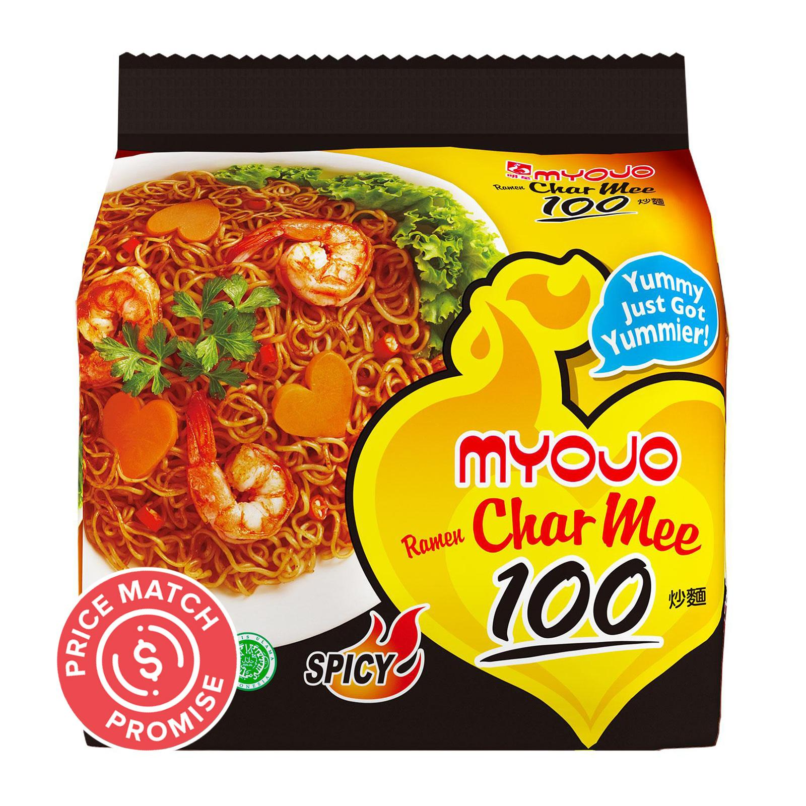 Myojo Ramen Char Mee 100 Dry Noodle | Lazada Singapore