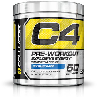 Cellucor Fourth Generation C4 Pre-Workout Icy Blue Razz (60s)