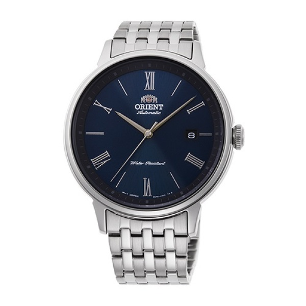 Orient RA-AC0J03L00C Automatic Blue Analog Roman Numeral Stainless Steel Watch Malaysia