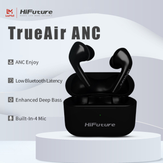 HiFuture TrueAir ANC Wireless Earbuds Bluetooth 5.0 In-Ear True Wireless Stereo Earphones Super High Fidelity Hi-Fi Sound Quality Headphones with IPX5 Waterproof &Low Latency Gaming Mode & ANC Active Noise Canceling for Android IOS and Windows thumbnail