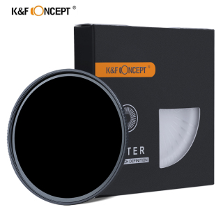 K&F Concept 62MM ND Filter ND1000 10 Stops, Neutral Density Lens Filter HD 18 Layer Neutral Grey ND Lens Filter with Multi-Resistant Nano Coating for Canon Nikon Lens thumbnail