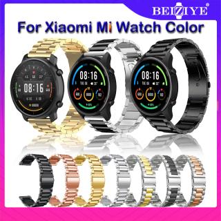 Dây đeo 22mm cho Xiaomi Mi Watch Color Smart Watch phiên bản thể thao Dây đeo kim loại cho Mi Watch Màu thay thế dây đeo bằng thép không gỉ thumbnail
