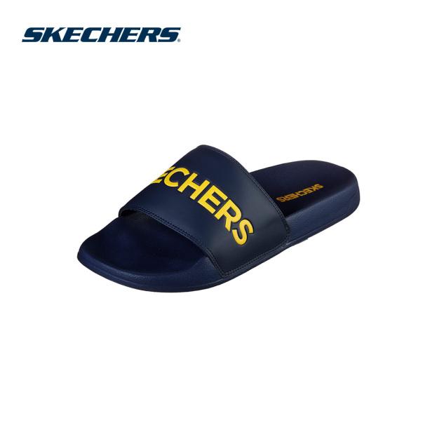 Skechers Dép Nam Side Lines - 8790061-GYOR giá rẻ