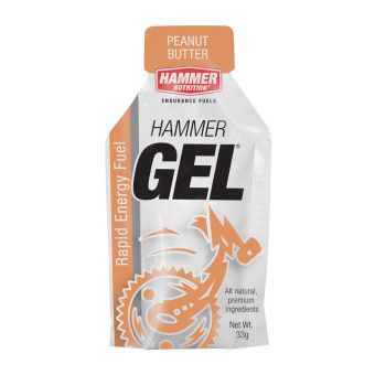 Hammer Gel Peanut Butter 24 Pack With Free Gift
