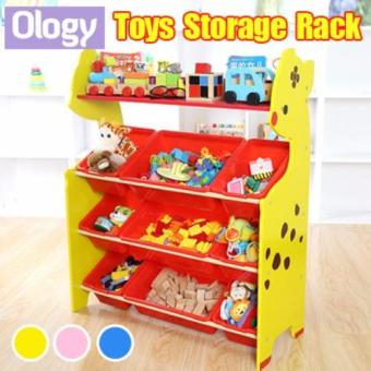 Cheap Kids Toy Rack Organizer Cabinet Storage Children Book