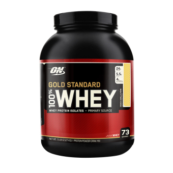 Optimum Nutrition Gold Standard 100% Whey 5 lbs - French Vanilla Creme
