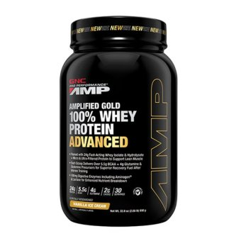 Pro Performance(R) AMP Amplified Gold 100% Whey Protein Advanced 1.96 lbs - Vanilla Ice-Cream
