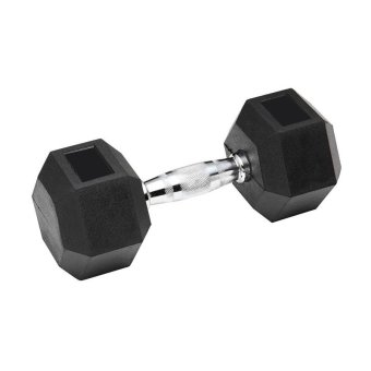 Rubber Coated Hex Dumbbell  - 3kg(1kg to 9 kg)