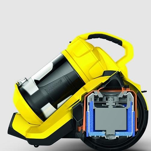 Vacuum cleaner VC 3: Low noise generation