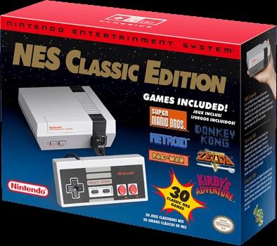 NES Classic Edition box