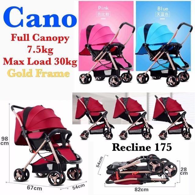 ✨2017 New Cano Full Canopy 7.5kg - $99