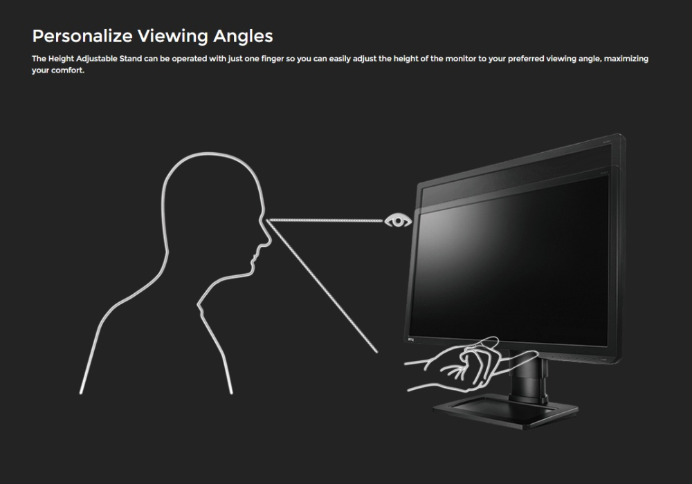 """Product details of BenQ ZOWIE XL2411 24"""" 144HZ 1ms Gaming Monitor(Black)"""
