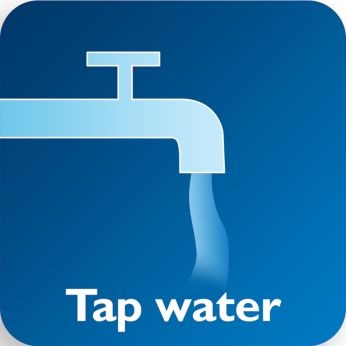 Effective with cold/warm tap water、 with/without detergent