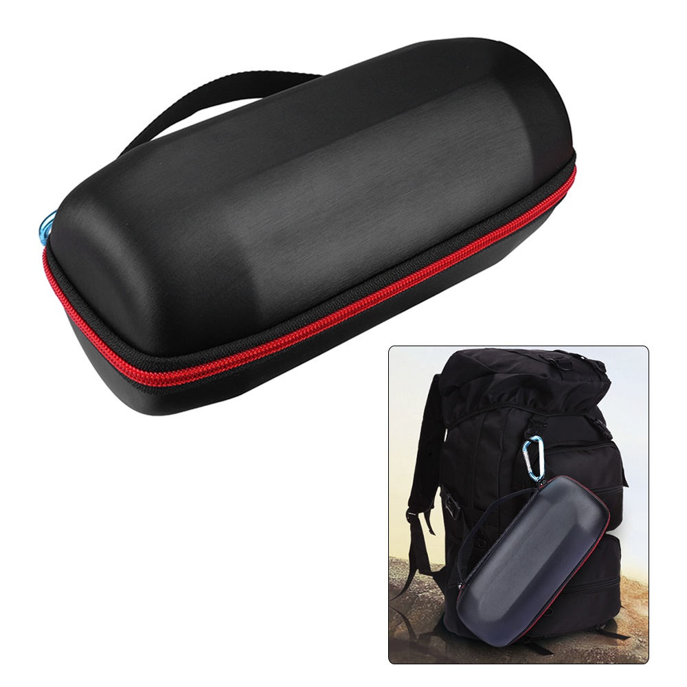 1 x Storage Case for JBL Charge 3 Bluetooth Speaker 1 x Belt 1 x Clasp 1 x Cleaning Cloth (The Speakers in the pictures are not included)