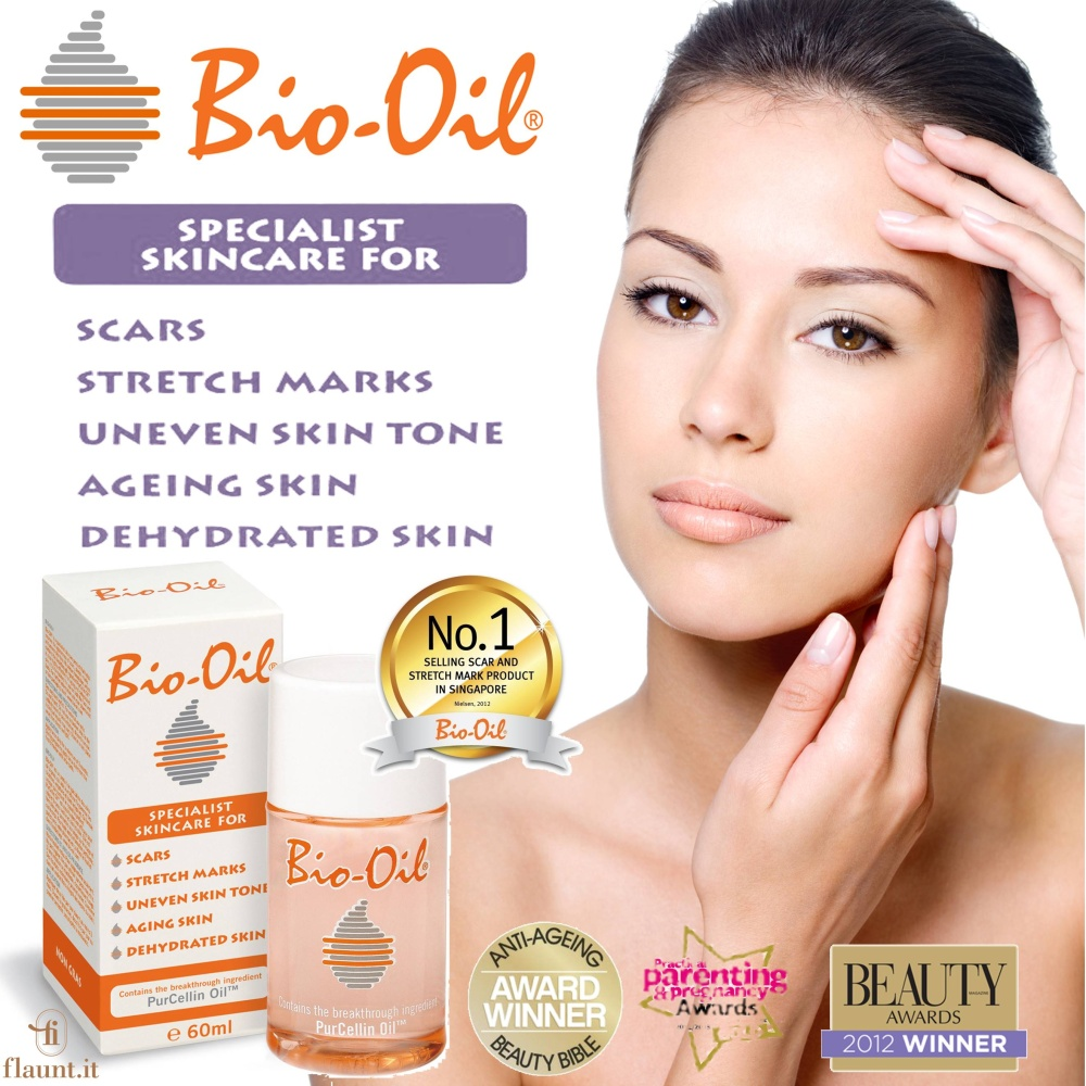 Bio-Oil Scar and Stretch Mark Product 200ml