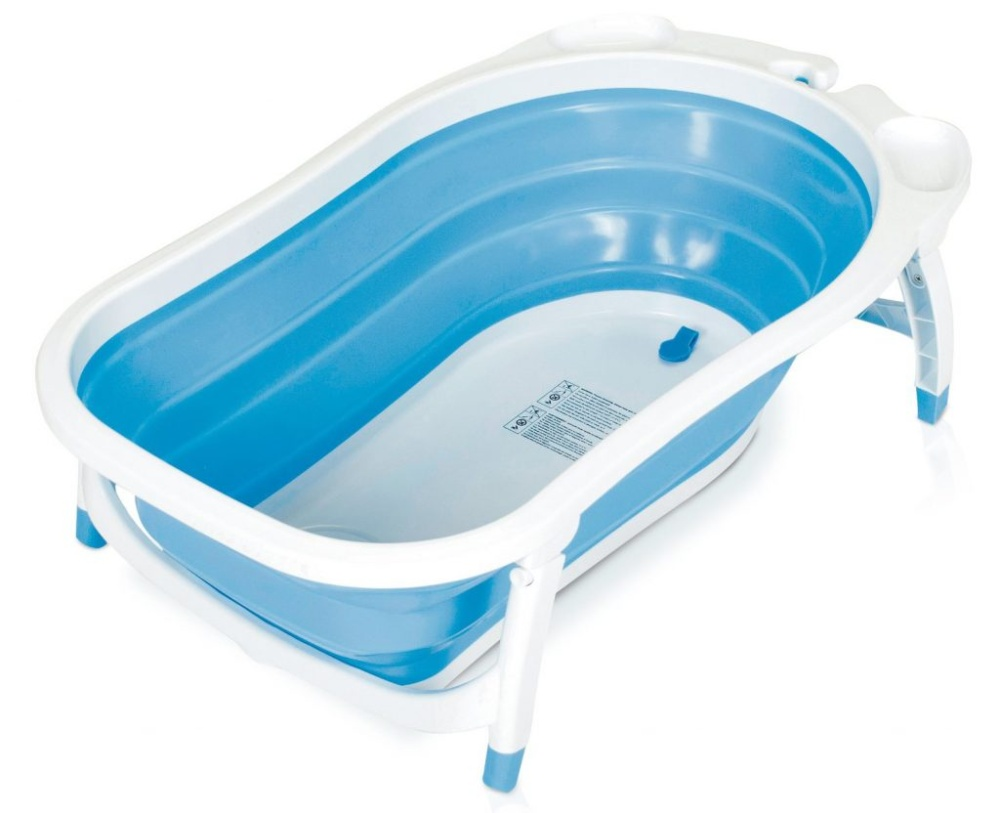 Shoppy Foldable Space Saving Secure Baby Bath Shower Tub | Lazada ...