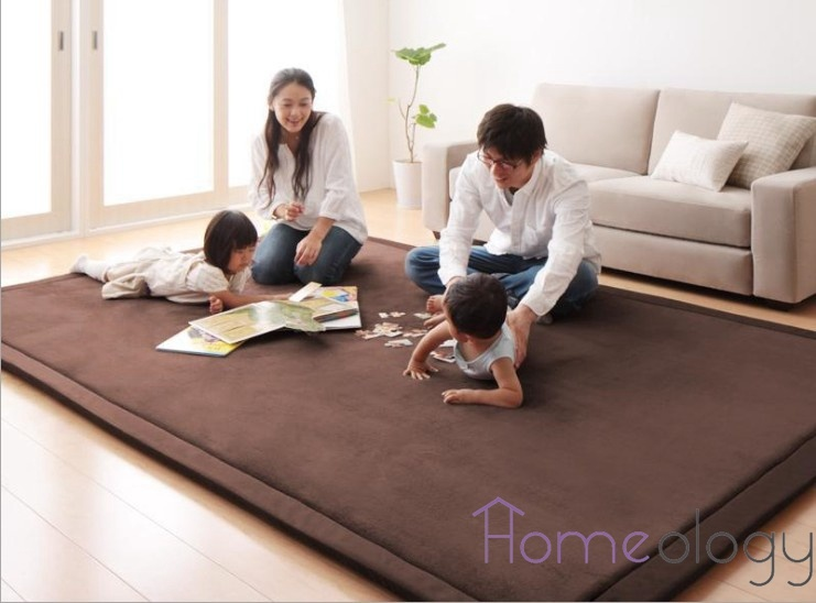 Product Details Of Japanese Premium Living Room Carpet Mats Wine