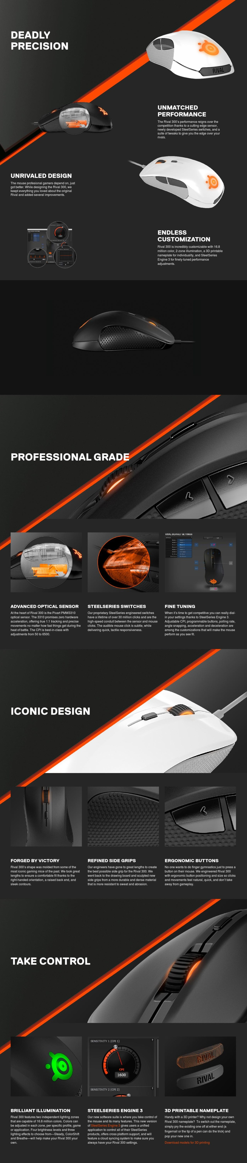 Steelseries Rival 300 CS:GO Fade Edition *PC SHOW* Singapore