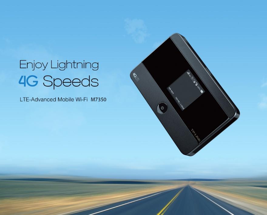 TP-LINK - M7350 LTE-Advanced Mobile Wi-Fi | Lazada Singapore