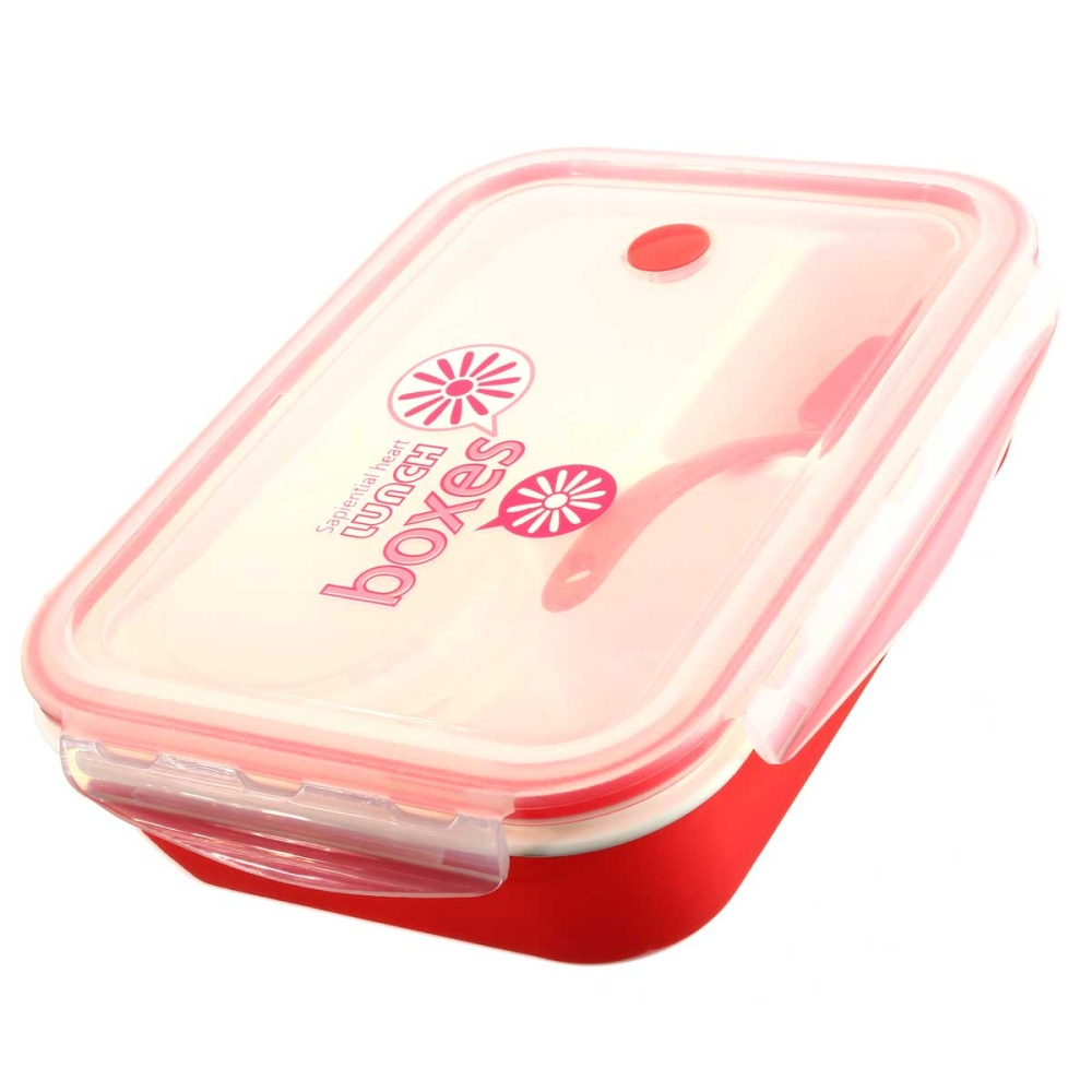 kids soup bowl spoon food picnic container lunch bento box microwave tableware pink lazada. Black Bedroom Furniture Sets. Home Design Ideas