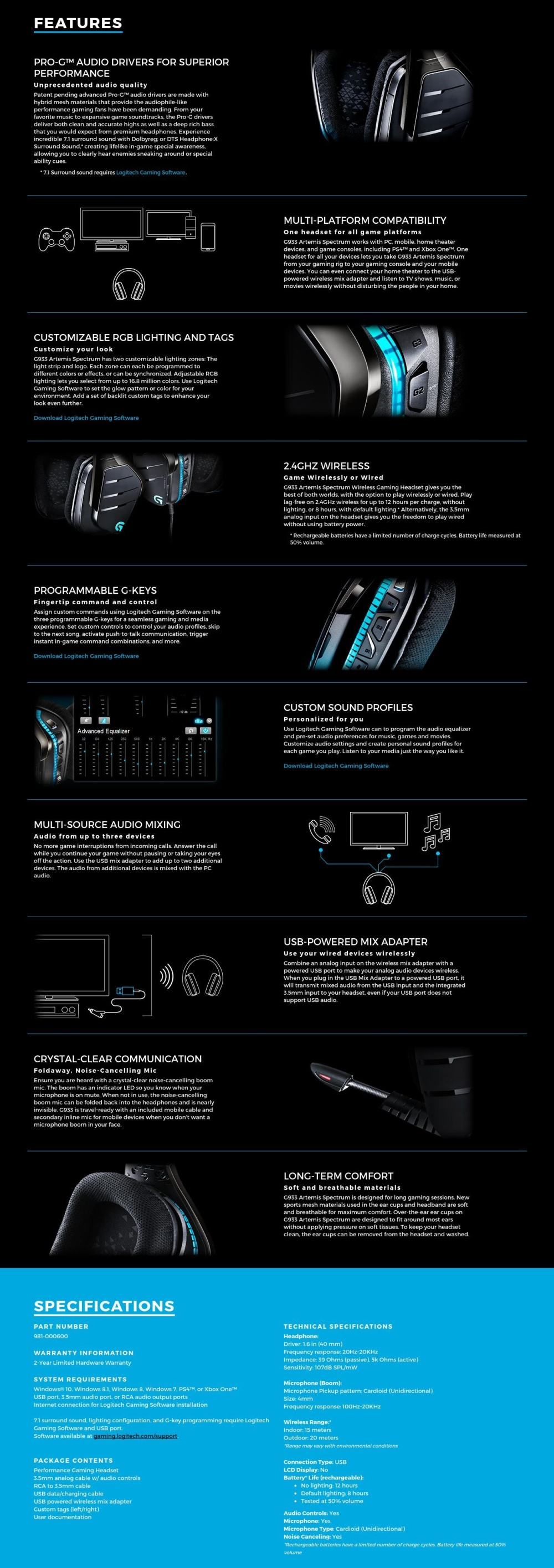 Professional Wired Gaming Headset Promotion Deep Bass Game Sades Knight Pro Bongiovi 71 Specifications Of Logitech G933 Artemis Spectrum Wireless Surround Sound Gss Promo