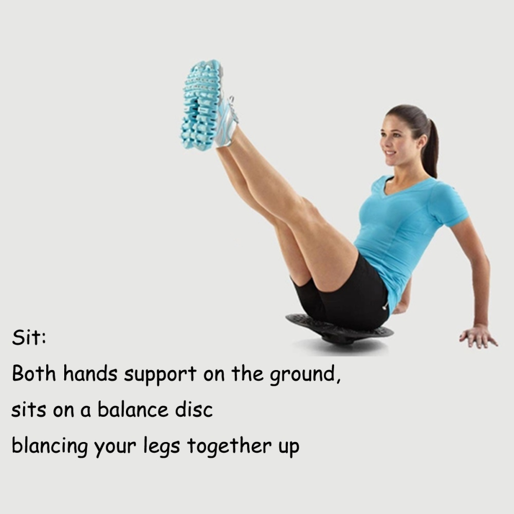 Balance Board Knee Stability: 37CM Balance Board Exercise Fitness Training Workout