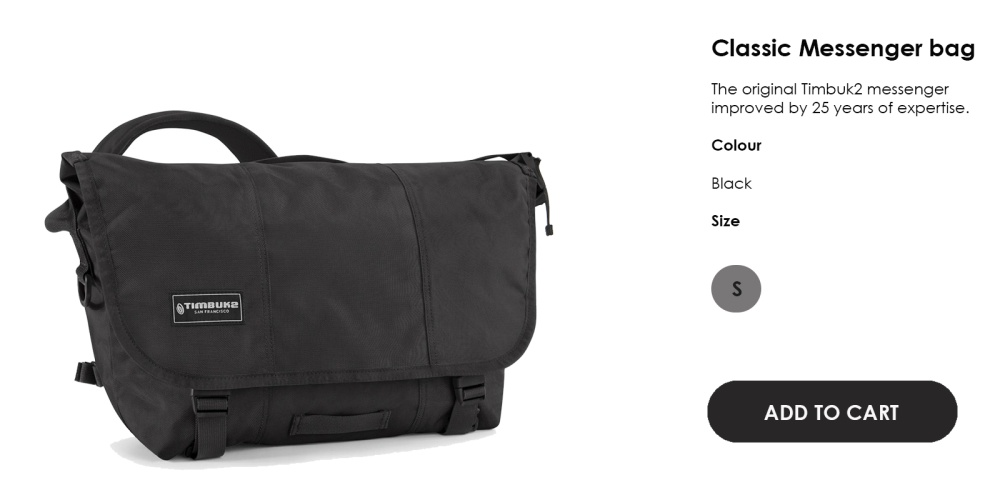 Specifications of Timbuk2 Classic messenger bag XS (Jet Black) f5aedaf74be3b