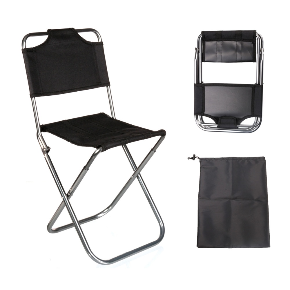 Folding Stool Chair Outdoor Travel Camping Carry Bag Export