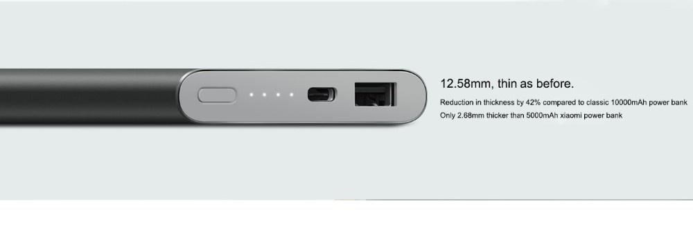 Original Xiaomi power bank 10000mAh, fast charging power bank xiaomi Pro version 10000