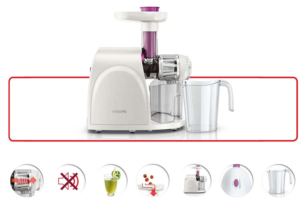 Philips viva Collection Slow juicer HR1830 Lazada Singapore