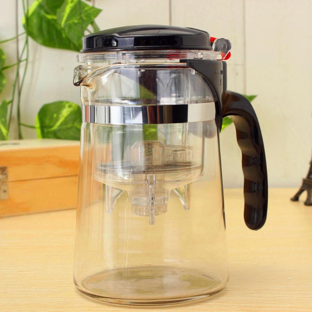 Glass Teapot Coffee Maker : Clear Glass Tea Coffee Maker Mug Pot With Filter Infuser Straight 500ml 17Oz Lazada Singapore