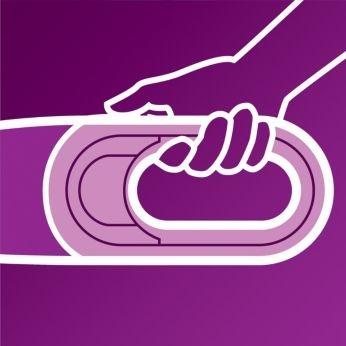 Looped handle ensure optimum grip
