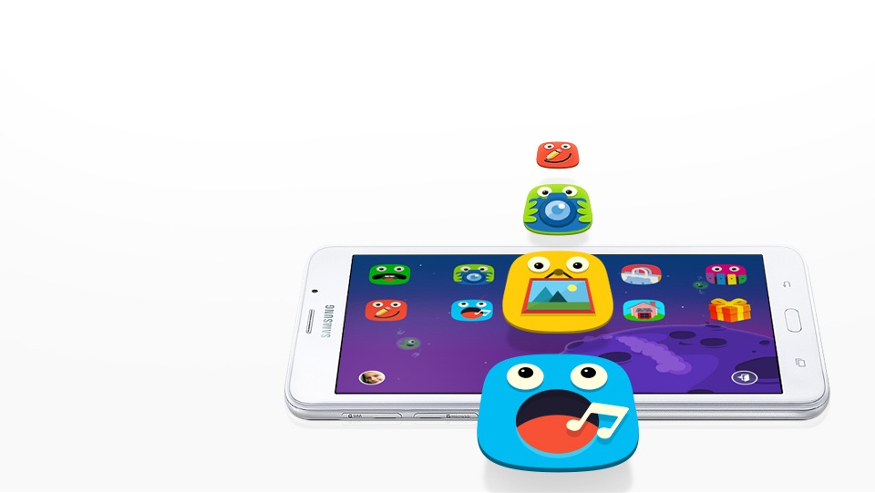A digital playground for the kids
