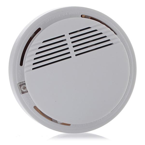 wireless cordless smoke detector home security fire alarm sensor system battery lazada singapore. Black Bedroom Furniture Sets. Home Design Ideas