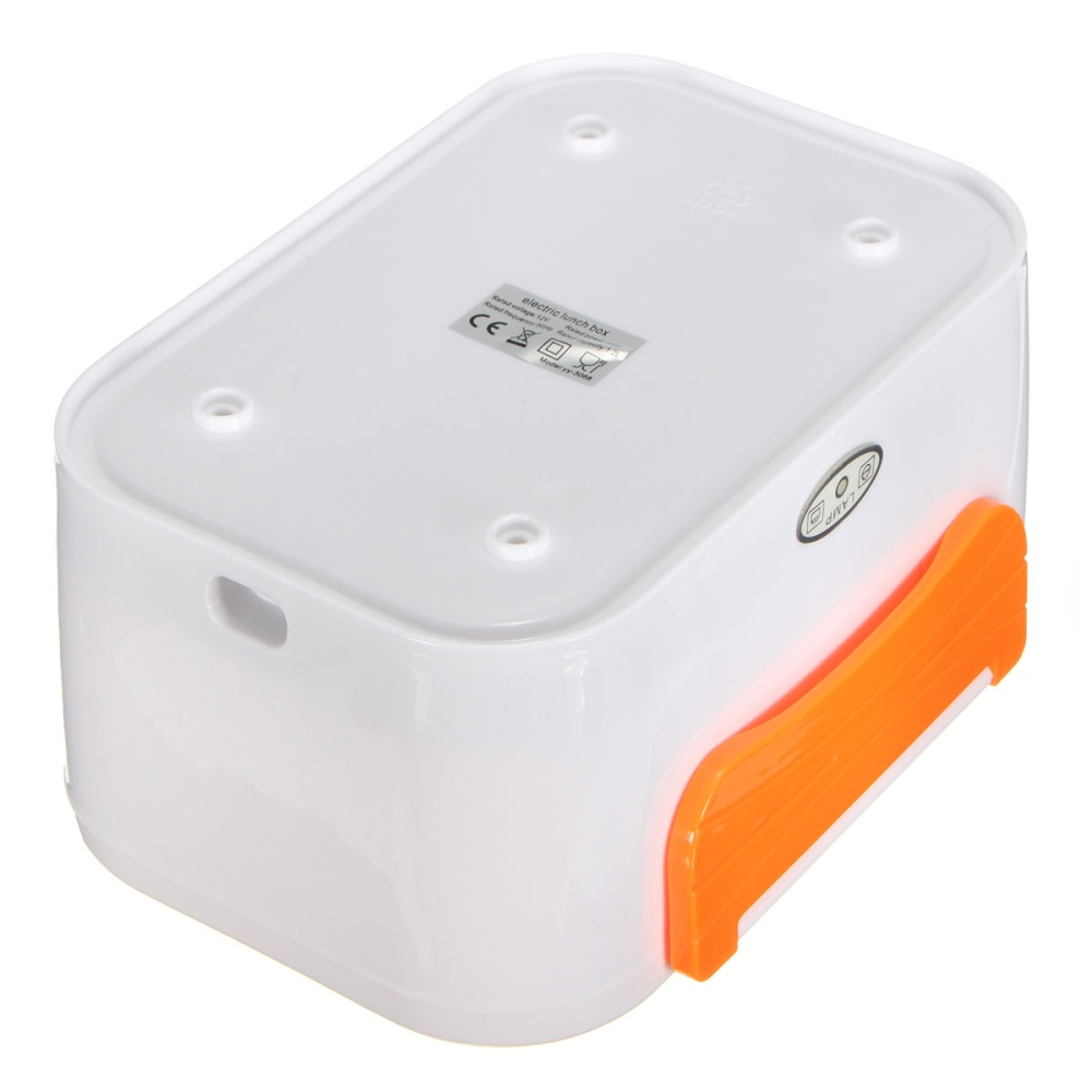 Portable Food Warmer Box ~ Portable electric heated car plug heating lunch box bento