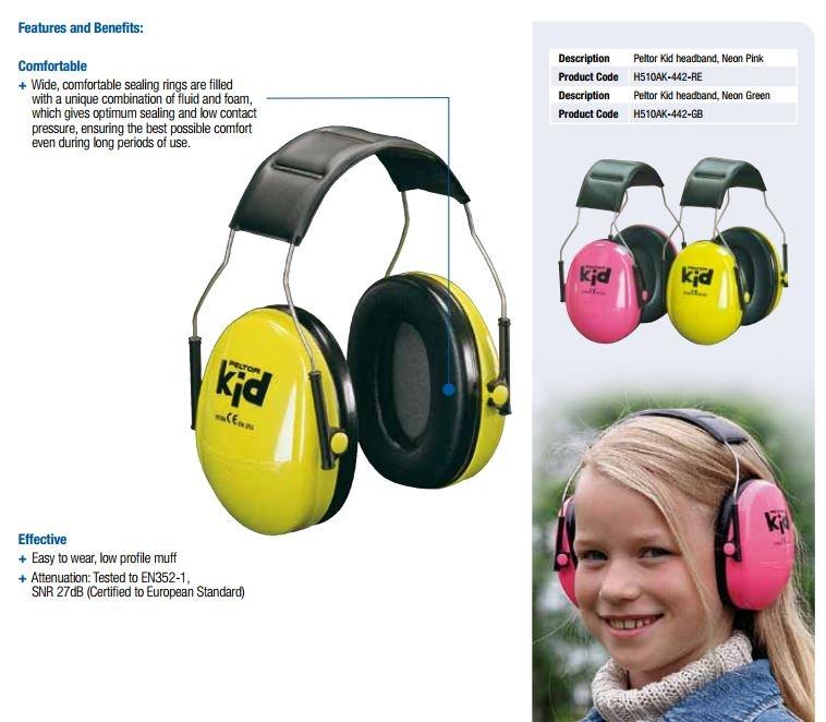 3m peltor kids ear muffs pink h510ak 442 re lazada. Black Bedroom Furniture Sets. Home Design Ideas