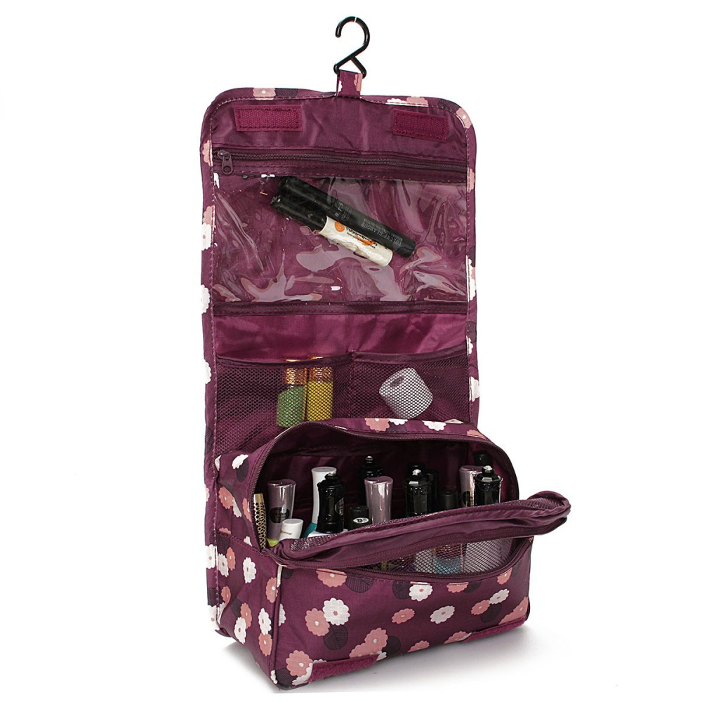 New Travel Toiletry Wash Cosmetic Makeup Storage Hanging ...