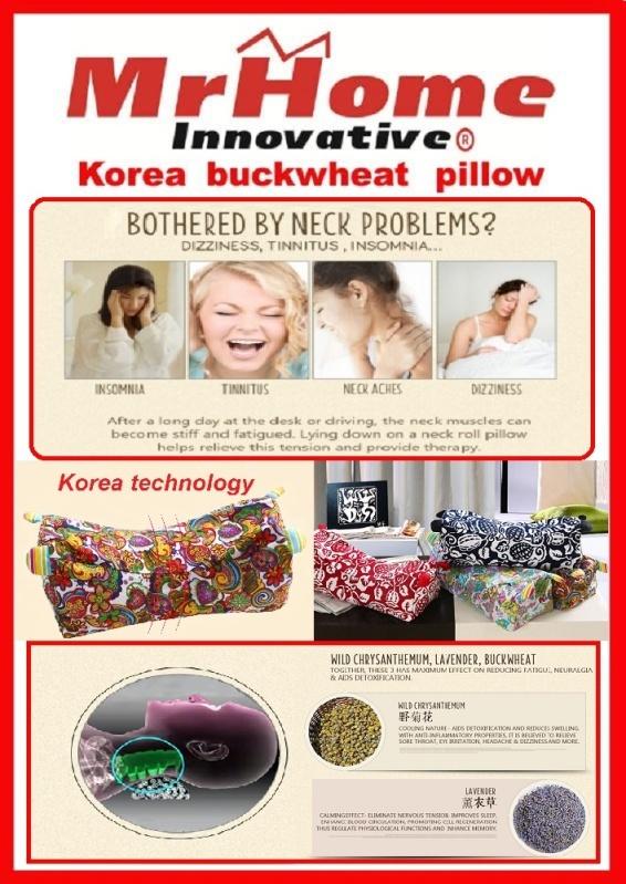Traditional Korean Buckwheat Pillow : Korea Buckwheat Pillow Lazada Singapore