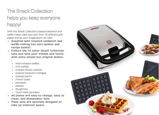 tefal snack collection sw856d buy sell online waffle makers with cheap price lazada singapore. Black Bedroom Furniture Sets. Home Design Ideas