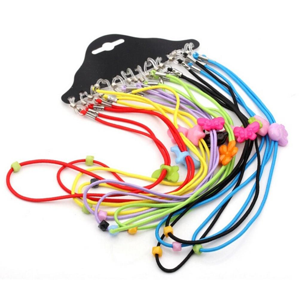 5f61854cf39 Nylon Cord Eyeglass Holder Sunglass Eyewear Glasses Neck String Strap