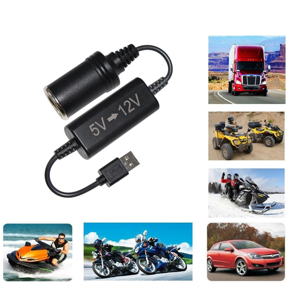 USB to car charger socket DC converter