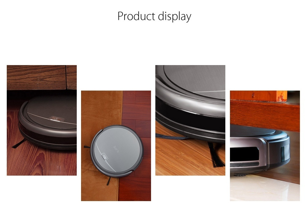 ILIFE A4S Smart Robotic Vacuum Cleaner Cordless Sweeping Cleaning Machine Self-recharging HEPA Filter Remote Control Robot