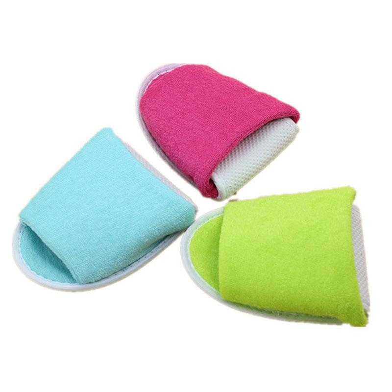 Burstore Special travel portable folding slippers men standing  non-disposable slippers home hotel standing - intl